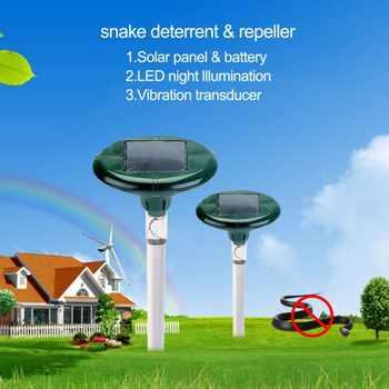 P2018 新ロードされたヘビ & マウス撥太陽エネルギーをおびえさせる離れモル/ハタネズミ/ホリネズミとラット Led チューブ便利ガーデン PGM