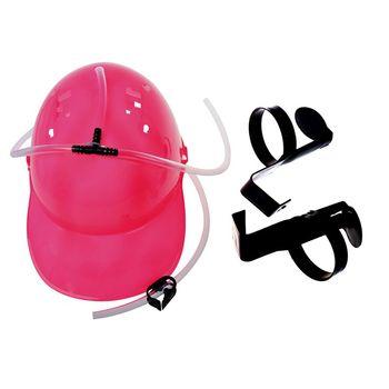 Lounger เครื่องดื่มหมวกเบียร์หมวกหมวกกันน็อกสีชมพู