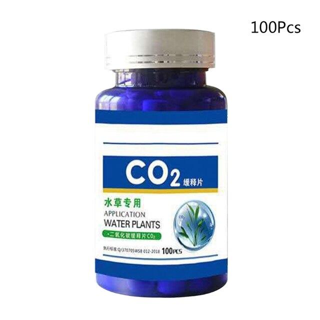 60/100Pcs Aquarium CO2 Tablet Carbon Dioxide Diffuser for Water Plant Grass Fish Tank Accessories 4
