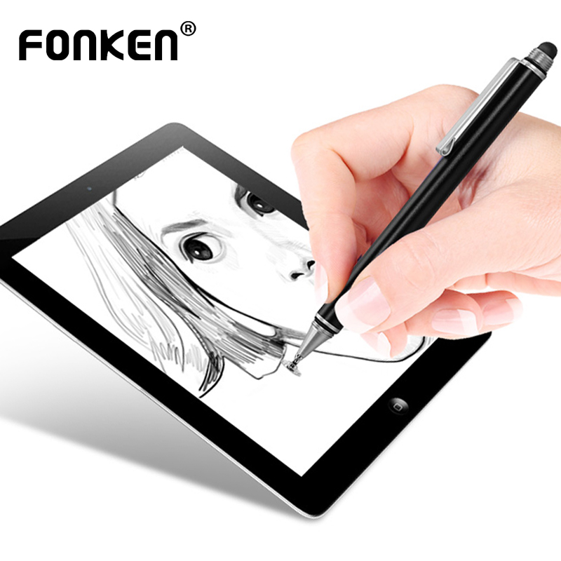 FONKEN Stylus Pen For Samsung Galaxy Tablet Surface Pen Touch Screen Stylus For Xiaomi Huawei Capacitive Stylus Drawing Pencil