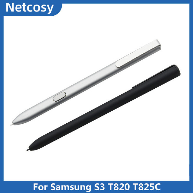 Caneta stylus para samsung s3 t820 t825c tela de toque capacitivo caneta para samsung galaxy tab s3 9.7 SM T820 t825c s caneta