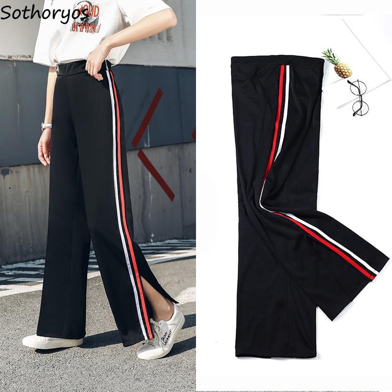 Pants Women Thin Loose Streetwear High Waist Spring Summer Trendy Korean Style All-match Casual Ulzzang Elegant Womens Trousers