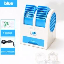 Enfriador de aire purificador para el hogar, aire refrescante, ambiente cómodo, Humidificador purificador y Mini ventilador portátil de mesa de tamaño
