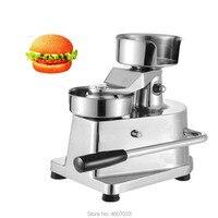 100 milímetros-130mm Manual de Hambúrguer Imprensa Hambúrguer Dá Forma À Máquina Rodada Carne dá forma à Máquina Formando Hambúrguer Patty Makers inoxidável aço