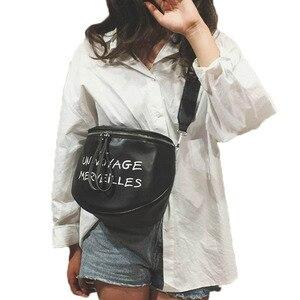 Image 1 - 럭셔리 핸드백 안장 가방 여성 디자이너 가죽 작은 crossbody 가방 여성 메신저 가방 숙녀 숄더 핸드백 w604