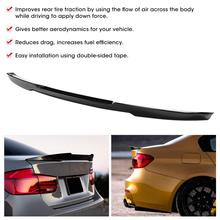 Carbon Fiber Style High Kick for M4 Trunk Lid Spoiler Fits for BMW 3 Series F30 M3 F80 2013-2019