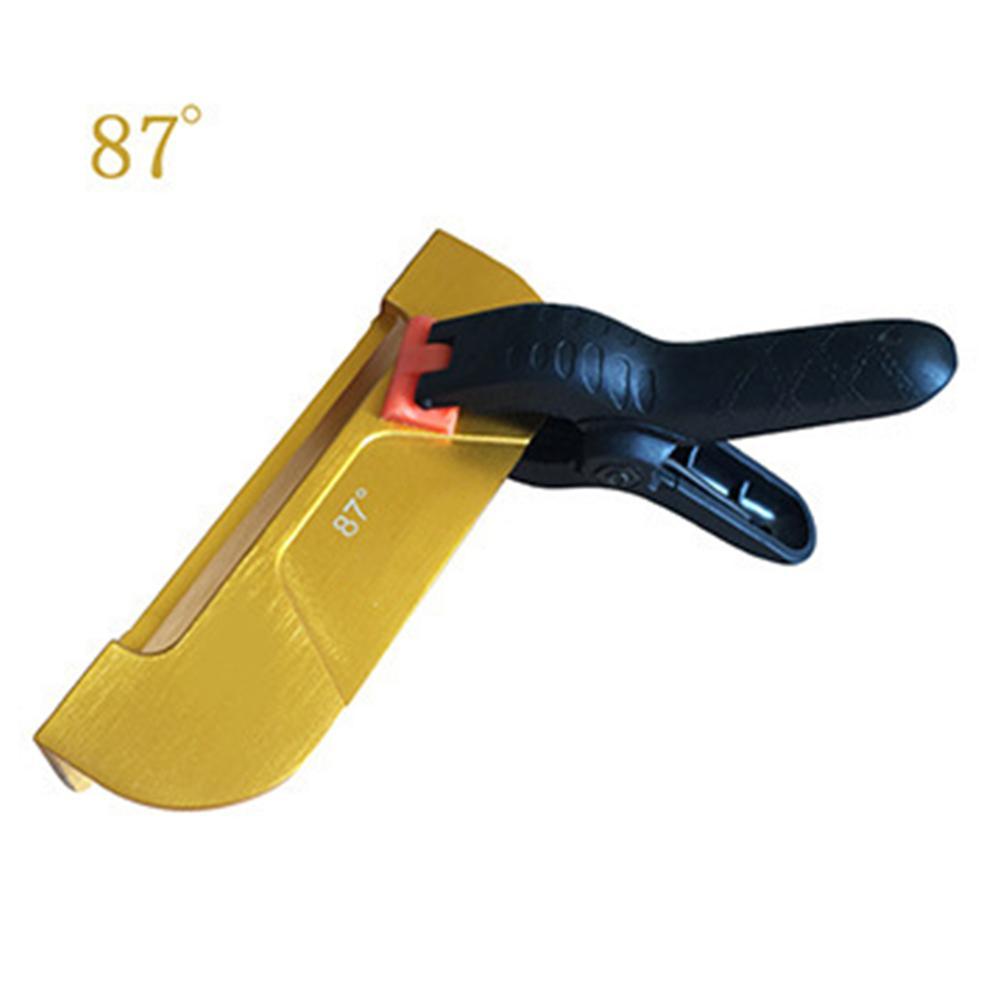 New Hot Ski Snowboard Edge Tuning Tool Kit 90 89 88 87 Degree Angle 4 Angles Portable Edge Care Kit