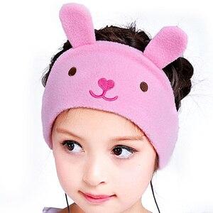 Image 5 - Vococal Auriculares con protección auditiva para niños, diadema para niños, máscara para dormir, escuchar música