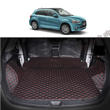 Lsrtw2017 Car Trunk Mat Cargo Liner for Mitsubishi Asx Outlander Sport RVR 2010 2011 2012 2013 2014 2015 2016 2017 2018 2019 lsrtw2017 leather car trunk mar cargo liner for mitsubishi outlander sport asx rvr 2011 2012 2013 2014 2015 2016 2017 2018 2019