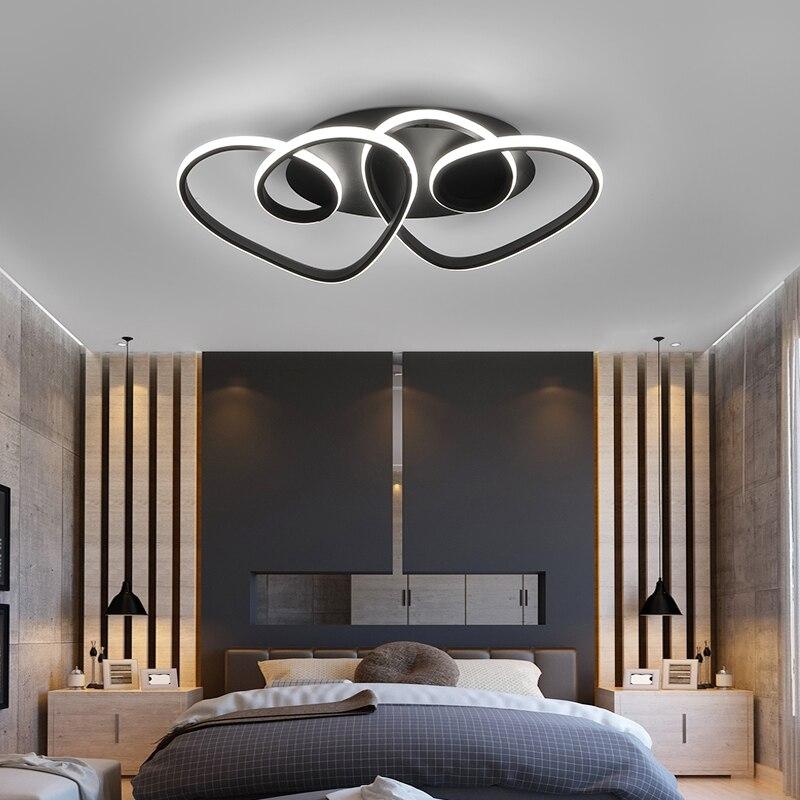 Светодиодный потолочный светильник в романтическом стиле s для спальни, детской комнаты, светильник для детской комнаты, лампа с сердечками