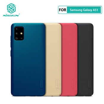 Case for Samsung Galaxy A31 A41 A51 A71 Nillkin Frosted Shield PC Hard Back Casing Cover For Samsung Galaxy A51 Case