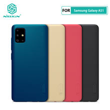 Case Voor Samsung Galaxy A51 A71 Nillkin Frosted Shield Pc Hard Behuizing Cover Voor Samsung Galaxy A51 Case(China)