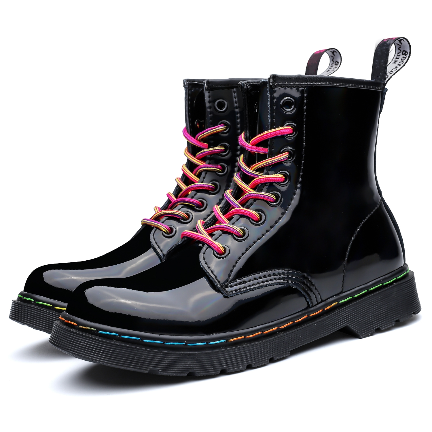 Pasal Winter Couple Women Ankle Boots Work Boots Women Genuine Leather Boots Martens Autumn Botas Mujer Female Comfortable Shoe