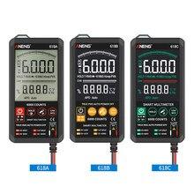 Multimètre numérique 618C, DC, barre analogique, testeur automatique, NCV professionnel, testeur
