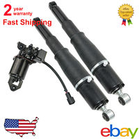 AP02 Rear Left / Right For Cadillac Escalade Chevy Tahoe Autoride Passive Air Strut Shocks Absorber & Compressor Kit 1575626