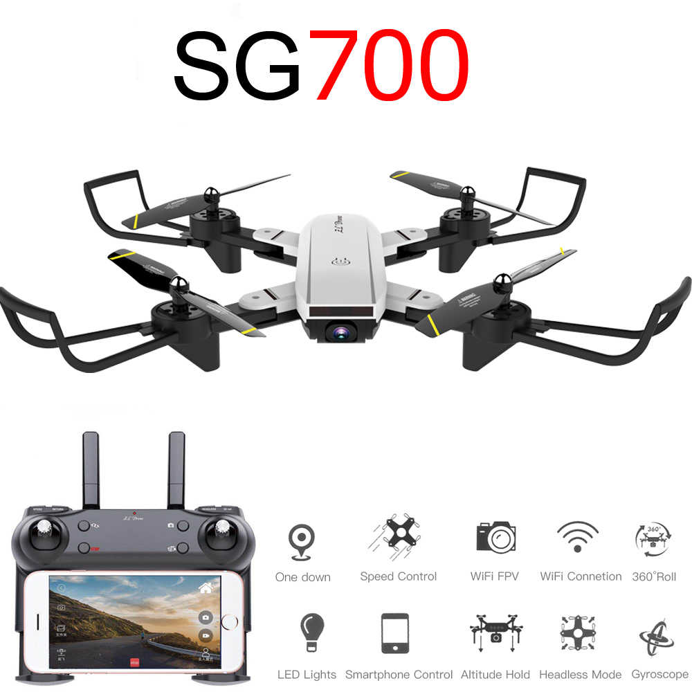 SG700D quadcopter dron drones met camera hd mini drone rc helicopter 4k speelgoed profissional drohne com camera quadrocopter racing