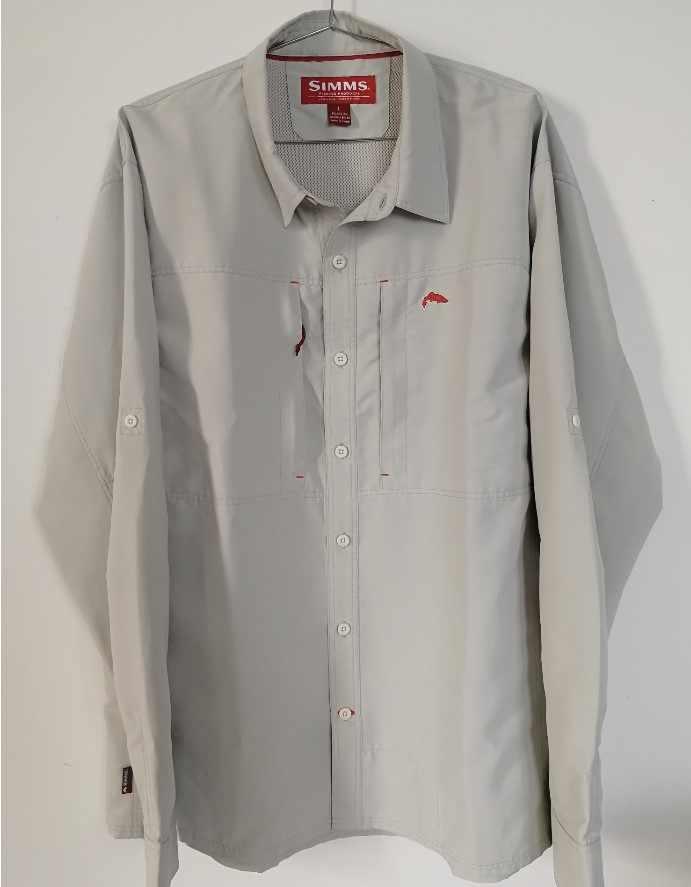 2019 S * mms Erkekler Balıkçılık Gömlek LS Ekose Gömlek % 100% Pamuk Hızlı Kuru UPF30 balıkçı kıyafeti Balıkçılık Gömlek Adam ABD artı Boyutu L-XXL