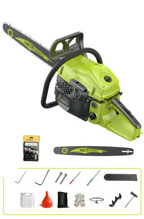 550ML Function Saw Chain Two Multi Saw Cooled Air 58cc Gasoline Logging Start Hand Portable Stroke 2200W Cutting Wood