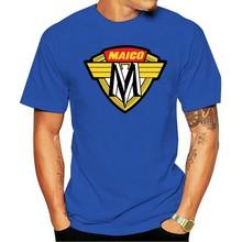 Nova 2021 camiseta maico motocicletas logotipo preto tamanho s m l xl 2xl 3xl eua tamanho en1