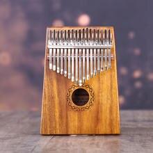 African kalimba 17 клавишных llaves eq калимбас пальцевое пианино