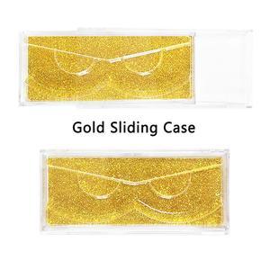 Image 3 - 40 шт./лот Профессиональный чехол накладка с держателями для полноразмерных ресниц прозрачный чехол для 3D ресниц из норки