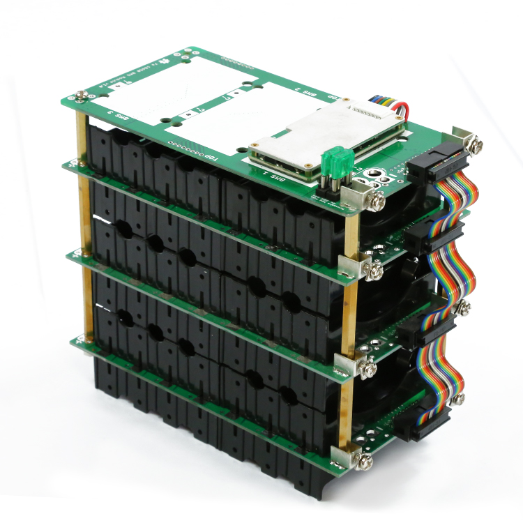18650 Power Wall 7s Battery Pack 7S Bms 29.4V Li-ion Lithium 18650 Battery Holder BMS PCB Board  20A 40A 60A  7S Battery Box