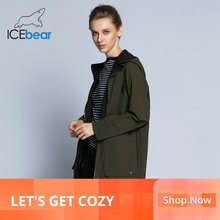 ICEbear 2019 new woman trench coat women fashion with full s