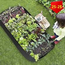 Vilt Garden Grow Bag Outdoor Plantaardige Planter Tuin Potten Groeien Zakken Tuin Woonkamer Tas Stof Groeien Pot Tuinieren Leveringen
