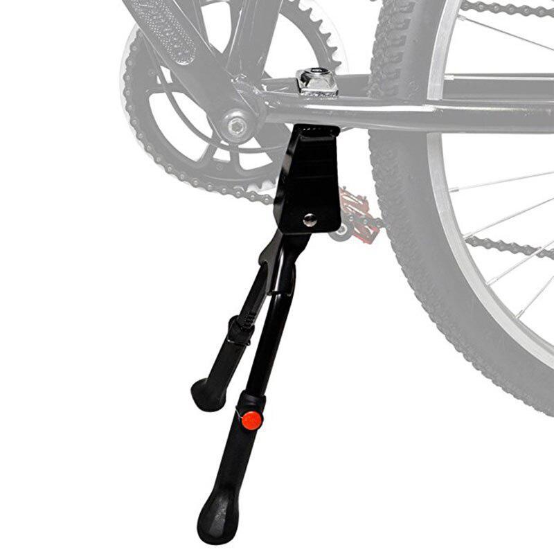 Kickstand Double-Leg Center Mount Bike Parking Rack On For 26 Inch Mountain Bike Kickstand Adjustable Tripod Kick Stand