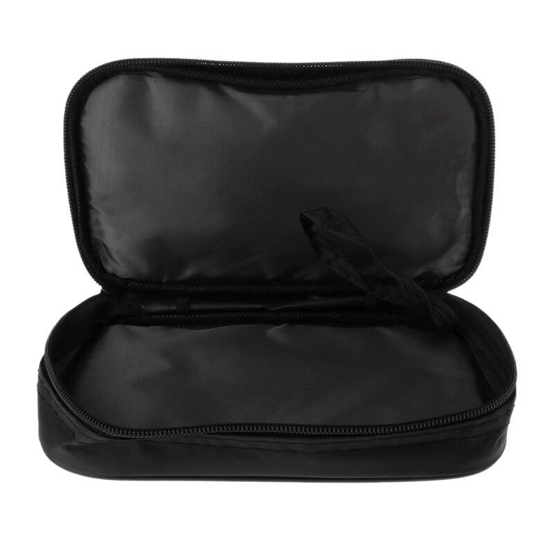 Multimeter Black Colth Bag 20*12*4cm UT Durable Waterproof Shockproof Soft Case Y98E