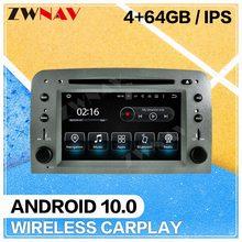 Autoradio Carplay Android 10, GPS, stéréo, lecteur d'écran, pour voiture Alfa Romeo Spider 147 GT (2005, 2006, 2007, 2008, 2009, 2010, 2011, 2012)