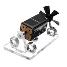 Магнитная подвеска лопасть вентилятора солнечный генератор Двигатель креативное украшение научная Модель двигателя в комплекте подарок