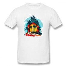 2019 funny tee cute t shirts Vintage Hawaiian Islands men short sleeves cotton tops cool shirt summer Mens T-Shirt