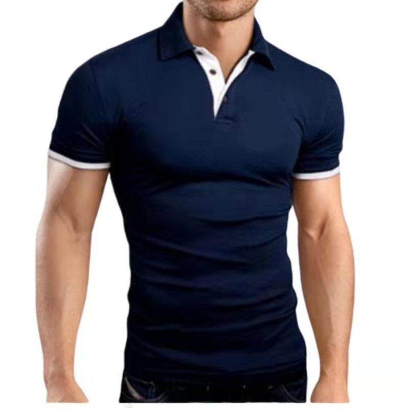 Tkwlkj roupas masculinas 2019 camisa polo 5xl masculino casual fino respirável verão camisa polo 10 cores hombre sólido manga curta