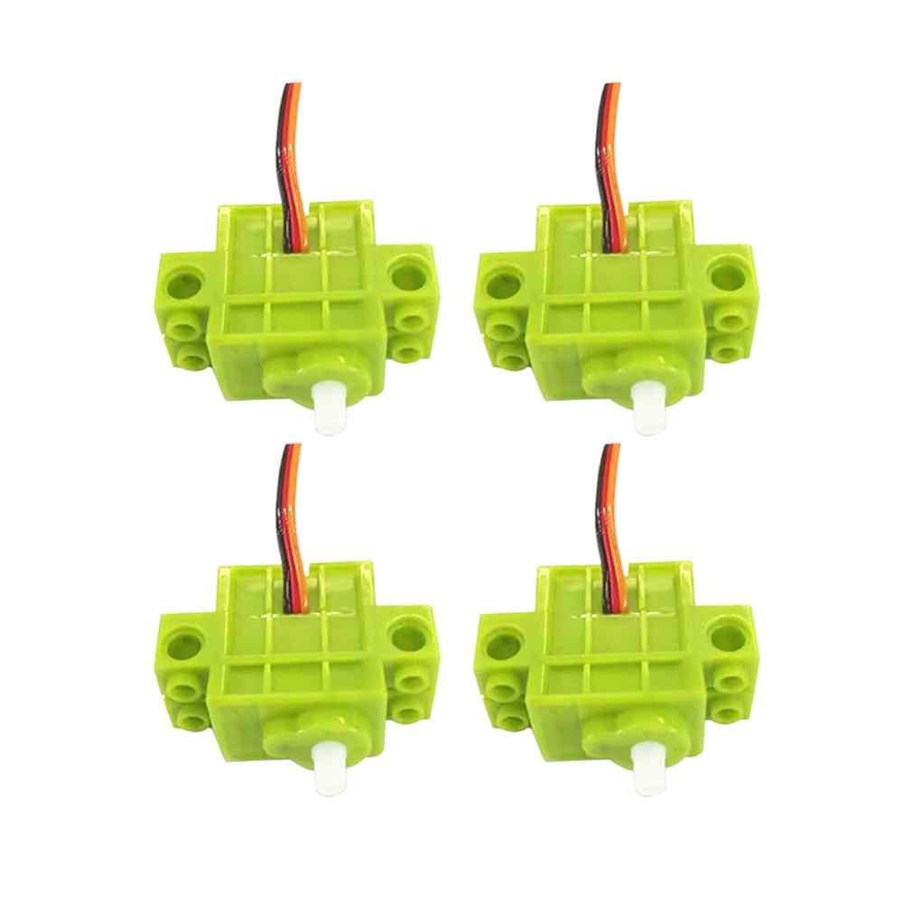 4 шт. Geekservo программируемый серводвигатель с вращением на 360 градусов для Lego Microbit Micro: bit Raspberry, для DIY RC робот умный автомобиль