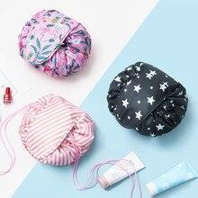 VOGVIGO Cosmetic Bag Lazy Leaves Printed Makeup Bag