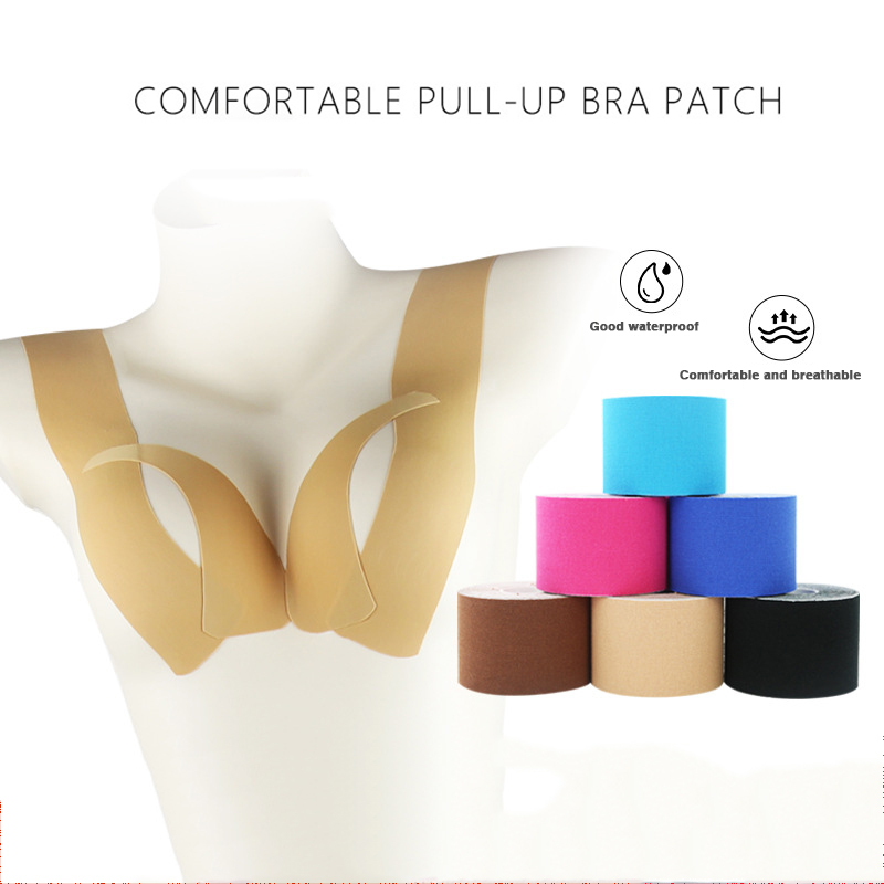 1 Roll Boob Tape Women Invisible Breast Lift Shape Tape Push Up Bra Adhesive Body Nipple Chest Stickers Covers Intimates Sexy