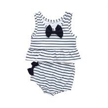 Stroje kąpielowe w paski dla dzieci chłopców i dziewcząt dwuczęściowy kostium kąpielowy kostiumy kąpielowe bikini kąpielowe Maillot de bain feminino tanie tanio ARLONEET Poliester Pasuje prawda na wymiar weź swój normalny rozmiar Dziecko dziewczyny Dwa Kawałki polyester Striped