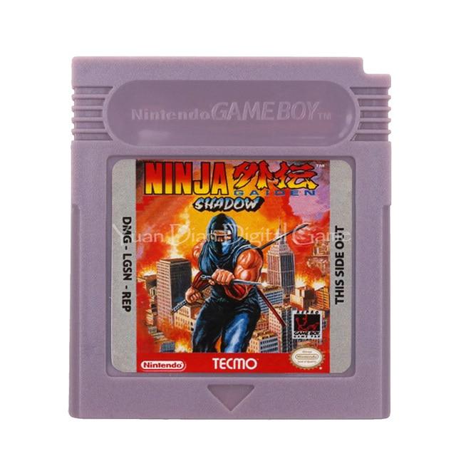 For Nintendo GBC Video Game Cartridge Console Card Ninja Gaiden Shadow English Language Version
