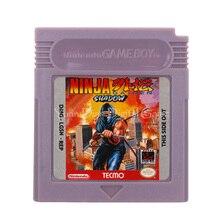 Para nintendo gbc cartucho de jogo de vídeo console cartão ninja gaiden sombra versão em inglês