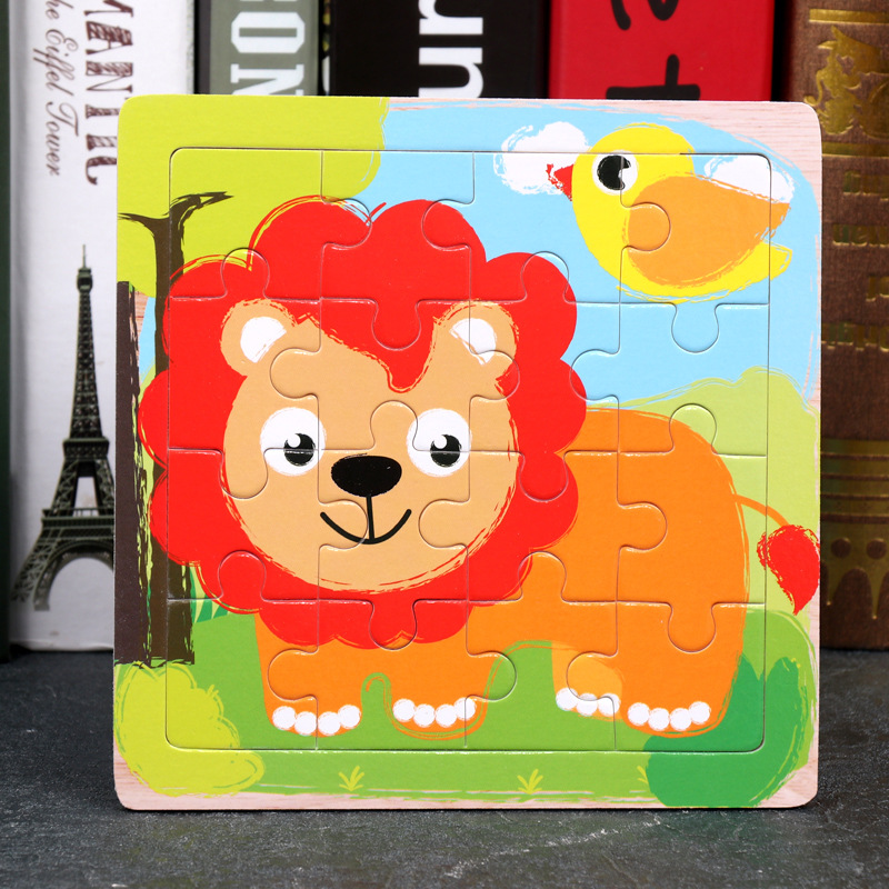 Wood Puzzles Children Adults Vehicle Puzzles Wooden Toys Learning Education Environmental Assemble Toy Educational Games 22
