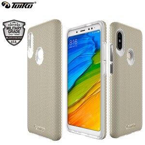 Image 1 - TOIKO funda protectora de doble capa funda de teléfono para xiaomi Redmi Note 5 Pro, Note 5, Global, PC duro, suave, TPU, a prueba de golpes