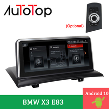 """AUTOTOP 10.25 """"Auto Radio Multimedia Player Android 10,0 X3 E83 DVD ForBMW X3 E83 2004 2009 GPS Navigation audio Stereo Head Unit"""