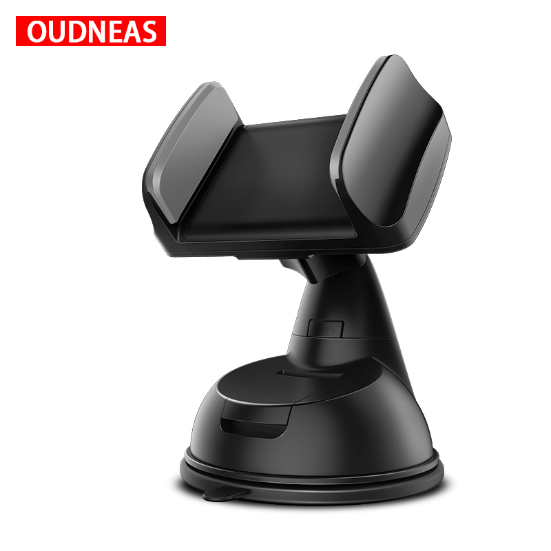 OUDNEAS Car Phone Holder For IPhone Samsung Mobile Phone Holder Windshield Mount Cell Phone Holder Smartphone Phone Stand In Car