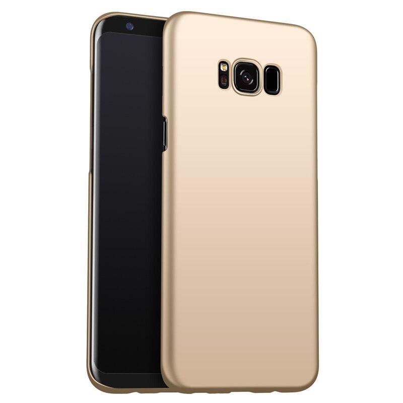 Samsung Galaxy S8 Fosco Sərt PC Tutqun örtüklü dəri qabığı - Cib telefonu aksesuarları və hissələri - Fotoqrafiya 3