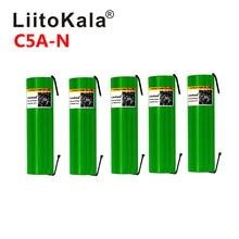 Liitokala C5A N Max 40A pulso 60A Original de batería de 3,6 V recargable 18650 VTC5A 2600mAh alto drenaje 40A batería