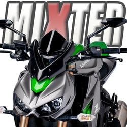 Motorcycle Windscreen Viser Visor Windshield Deflector Fits For Kawasaki Z1000 2014 2015 2016 2017 2018 2019 2020 Z-1000 Z 1000