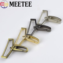 4pcs Meetee 38mm Metal Lobster Clasp Swivel Trigger Clips Snap Hooks for Bags Belt Strap DIY Hardware Sewing Accessories H2-3