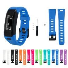Pulseira para garmin vivosmart hr pulseiras de silicone pulseira inteligente para garmin vivosmart hr esportes pulseira de pulso correia correa