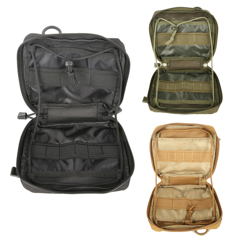 Hunting 1000D Molle Admin Magazine Men Storage Tactical Pouch For Air Gun Pistol Holster Bag
